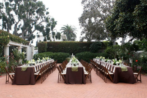 The Darlington House in La Jolla event venue